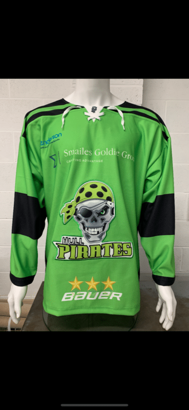 Hull Pirates Green Front