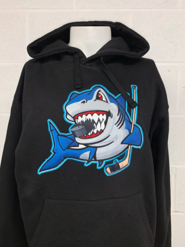 Sharks Hoody Scaled